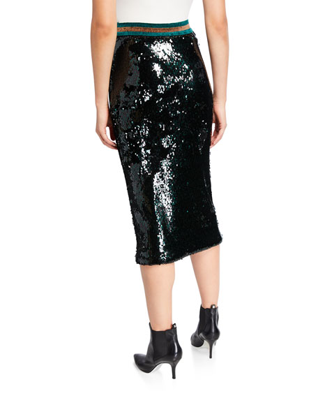 Image 2 of 3: Le Superbe Liza Sequined Skirt