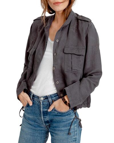 Rowen Star Embellished Jacket