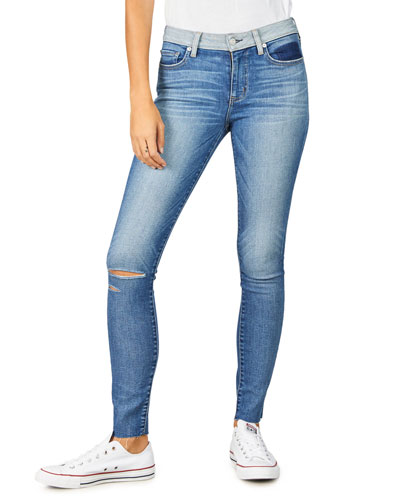 Lily Distressed Skinny Jeans