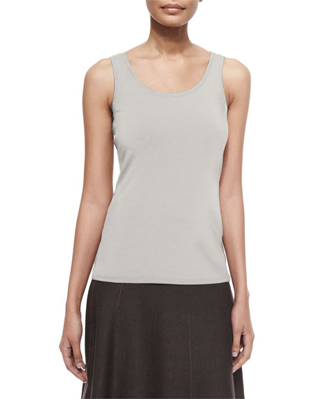 Image 1 of 3: NIC+ZOE Perfect Jersey Scoop-Neck Tank