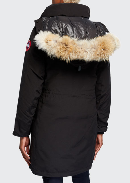 Image 3 of 4: Canada Goose Ellesmere Parka w/ Coyote Fur Ruff