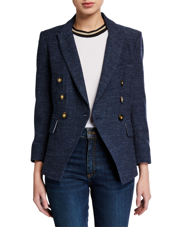 Empire Plaid Dickey Jacket by Veronica Beard