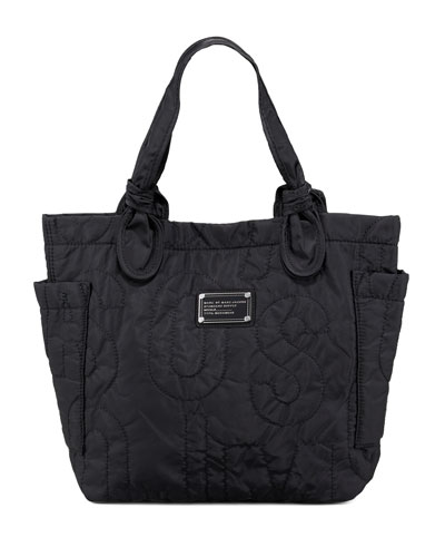 Pretty Nylon Little Tate Tote, Black