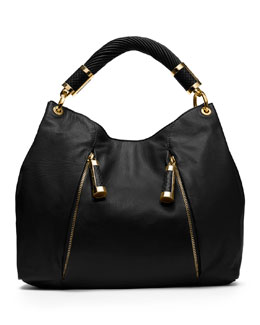Michael Kors Tonne Hobo, Black