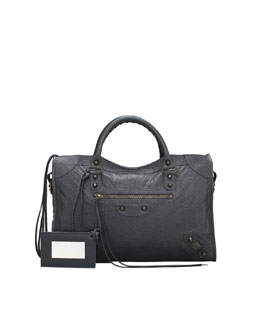 Balenciaga Classic City Bag, Anthracite