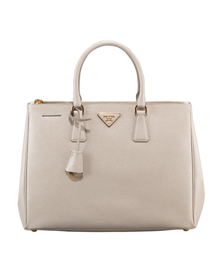 Saffiano Lux Top Handle Tote