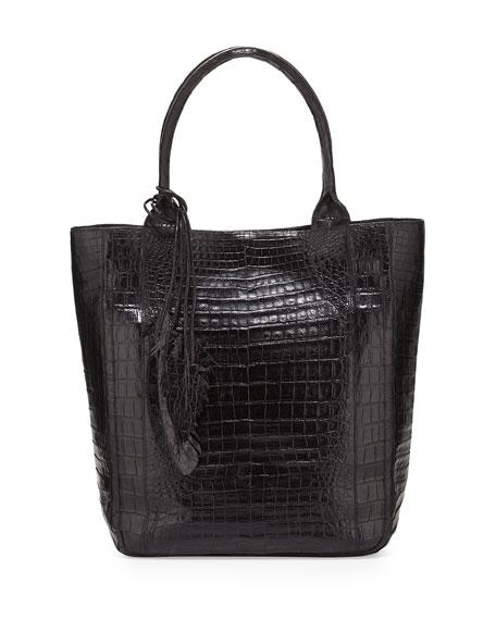 Crocodile Leaf Tote Bag