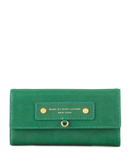 Preppy Leather Continental Wallet