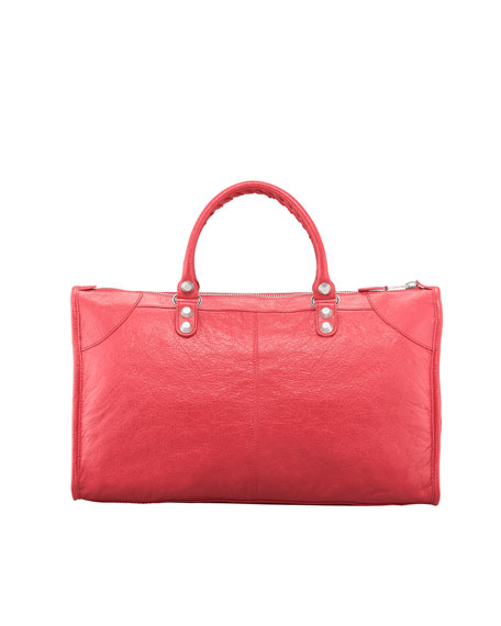 Giant 12 Nickel Work Bag, Rose Thulian