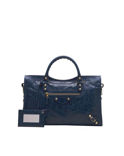 Giant 12 Golden City Bag, Bleu Mineral