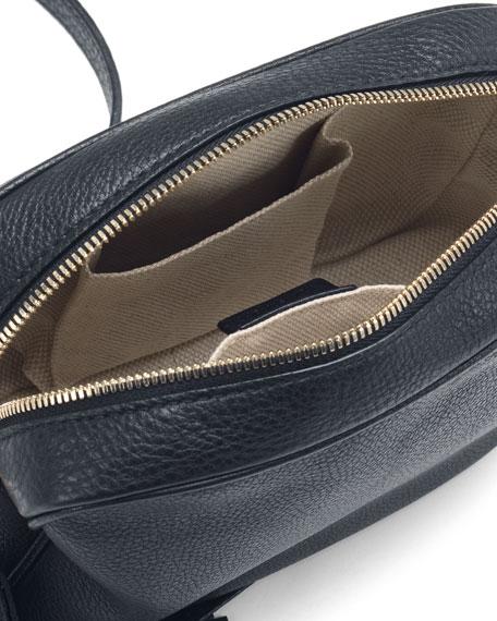 Soho Leather Disco Bag, Blue
