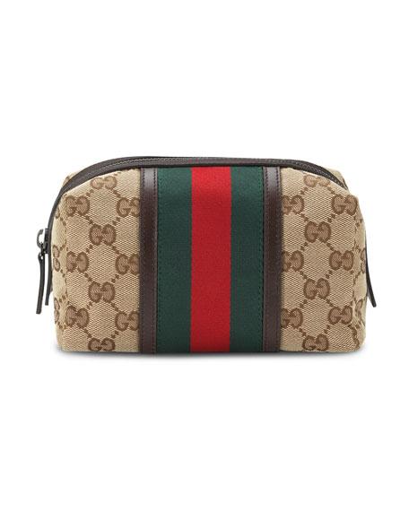 Gucci Original GG Canvas Cosmetics Case