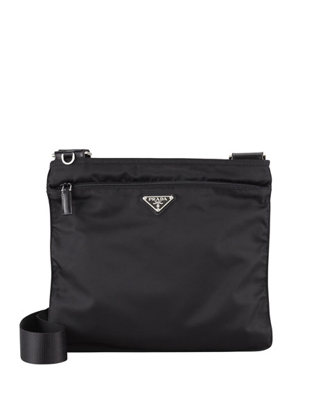 black prada tote bag - Prada Vela Crossbody Messenger Bag, Black (Nero)