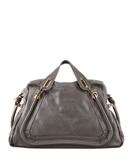 Chloe Paraty Large Shoulder Bag, Rock
