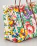 Miss Escape Floral Canvas Tote Bag