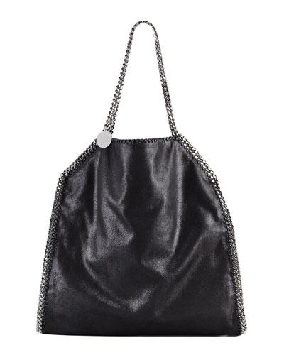 Stella McCartney Falabella Tote Bag, Black