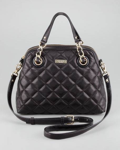 gold coast georgina satchel, black