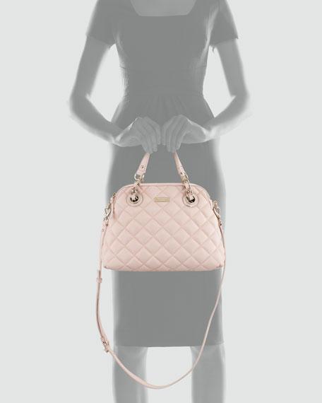 gold coast georgina satchel, pink
