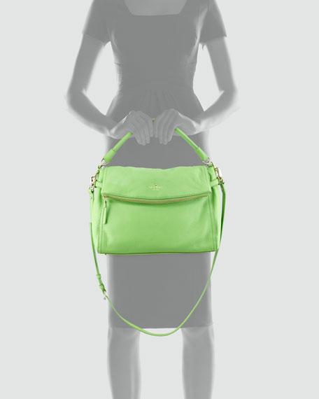 cobble hill little minka crossbody bag, green