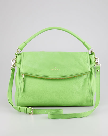 cobble hill little minka crossbody bag, green