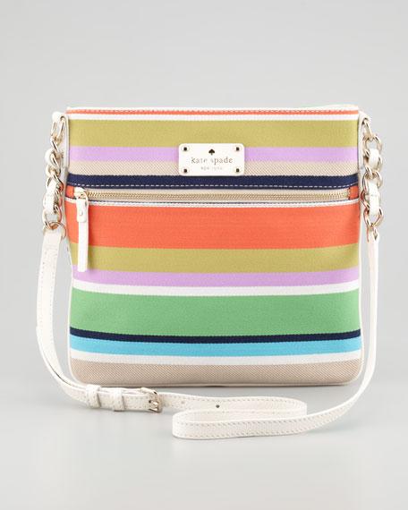 cobble hill stripe ellen crossbody bag