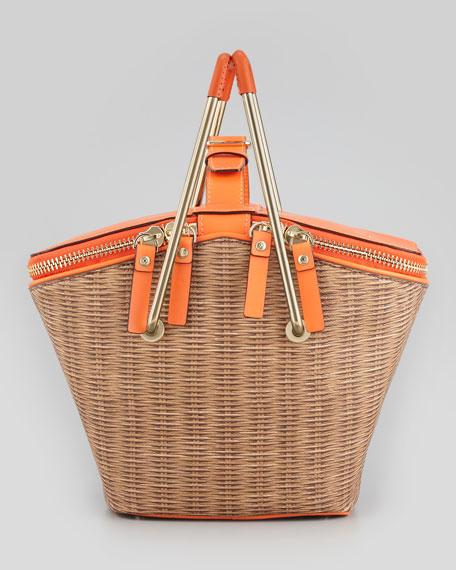 pack-a-picnic vinyl picnic basket
