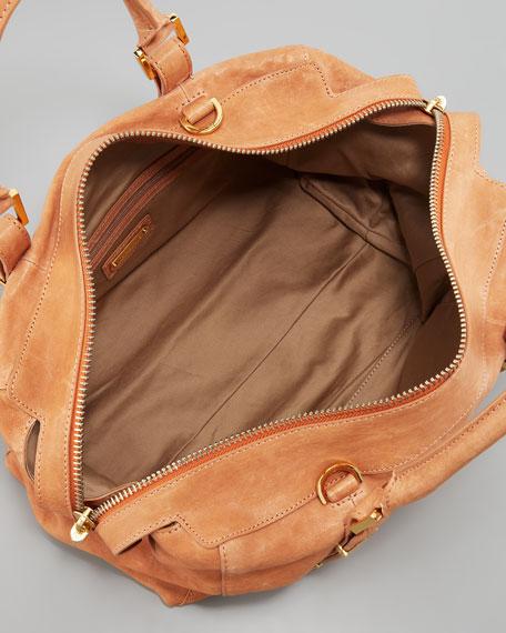 Charlie Medium Tote Bag, Nude