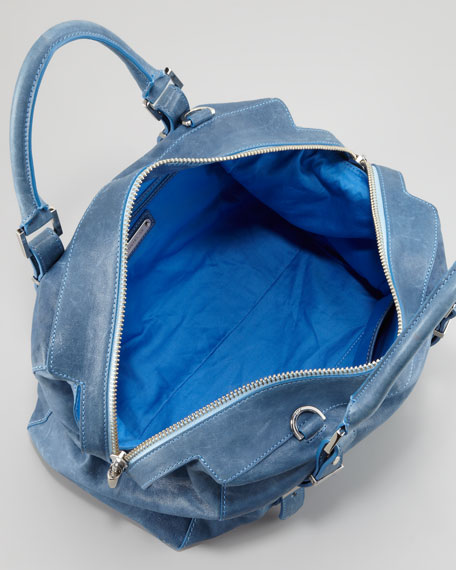 Charlie Medium Tote Bag, Blue