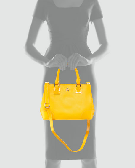 Robinson Mini Square Tote Bag, Yellow