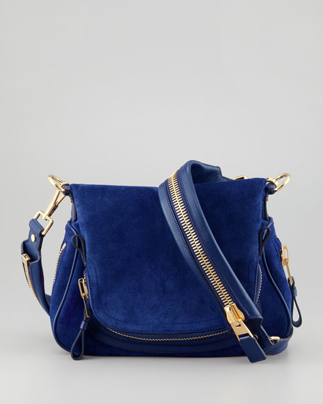 Jennifer Medium Flap-Top Messenger Bag