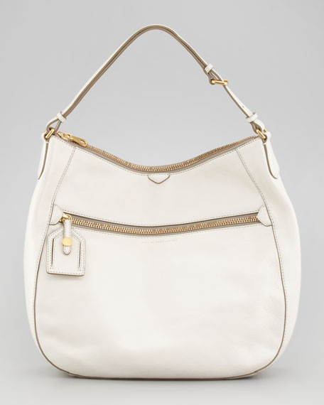 Globetrotter Wild Wild Willa Hobo Bag, White