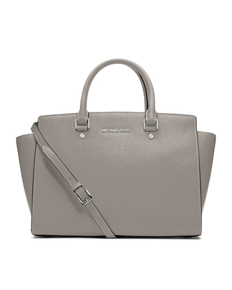 Selma Top-Zip Satchel