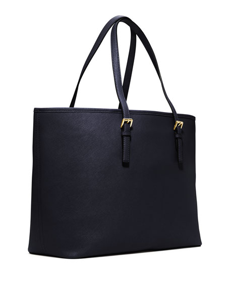 Jet Set Saffiano Travel Tote