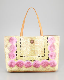 Tory Burch Kerrington Trompe l'Oeil Tote Bag