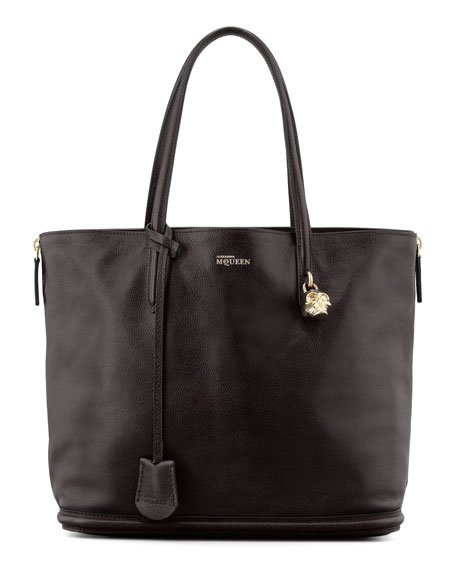 New Padlock Shopper Bag, Black