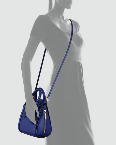 Mini Heroine Satchel Bag, Royal