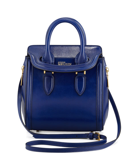 Mini Heroine Satchel Bag, Royal