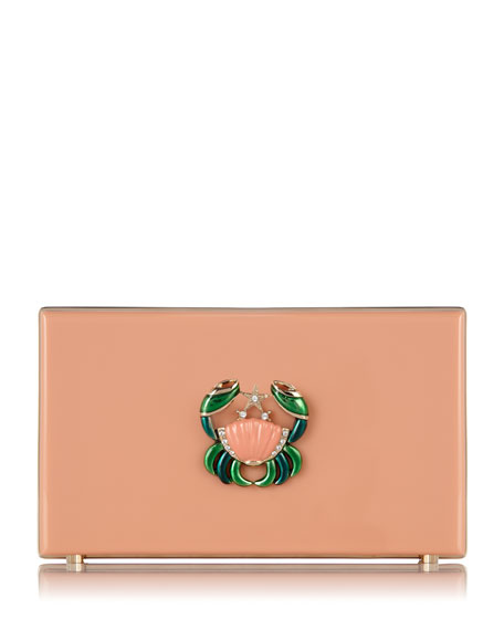 Pandora Cancer Zodiac Clutch, Blush