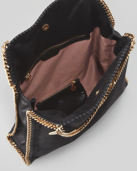 Falabella Big Tote Bag, Black