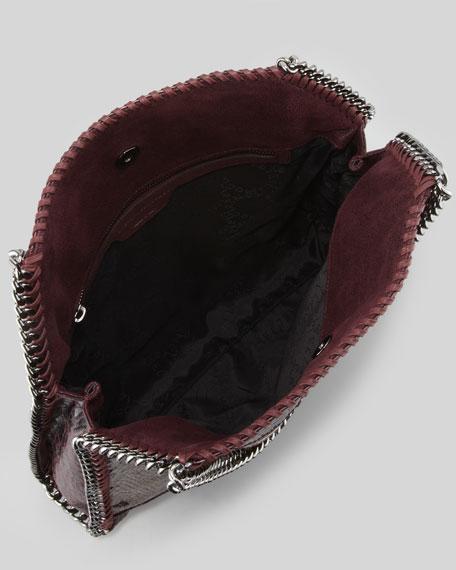 Falabella Small Patchwork Tote Bag, Plum