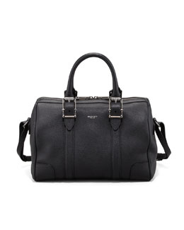 Belstaff Trinity Satchel Bag, Black