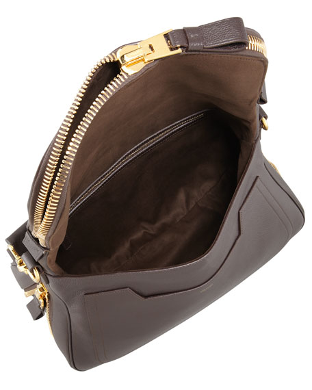 Jennifer Leather Shoulder Bag