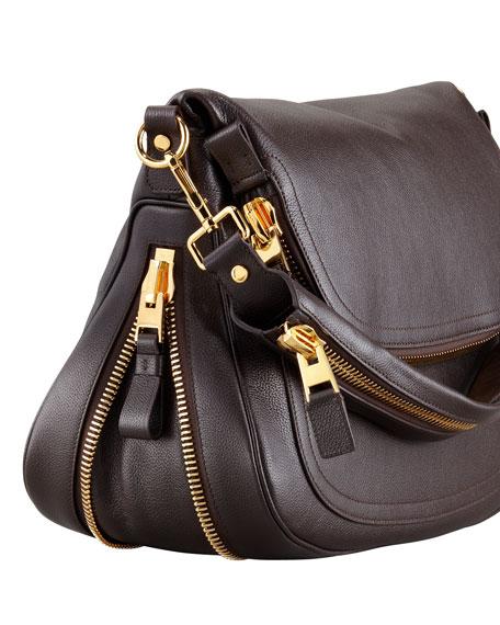 TOM FORD Jennifer Leather Shoulder Bag