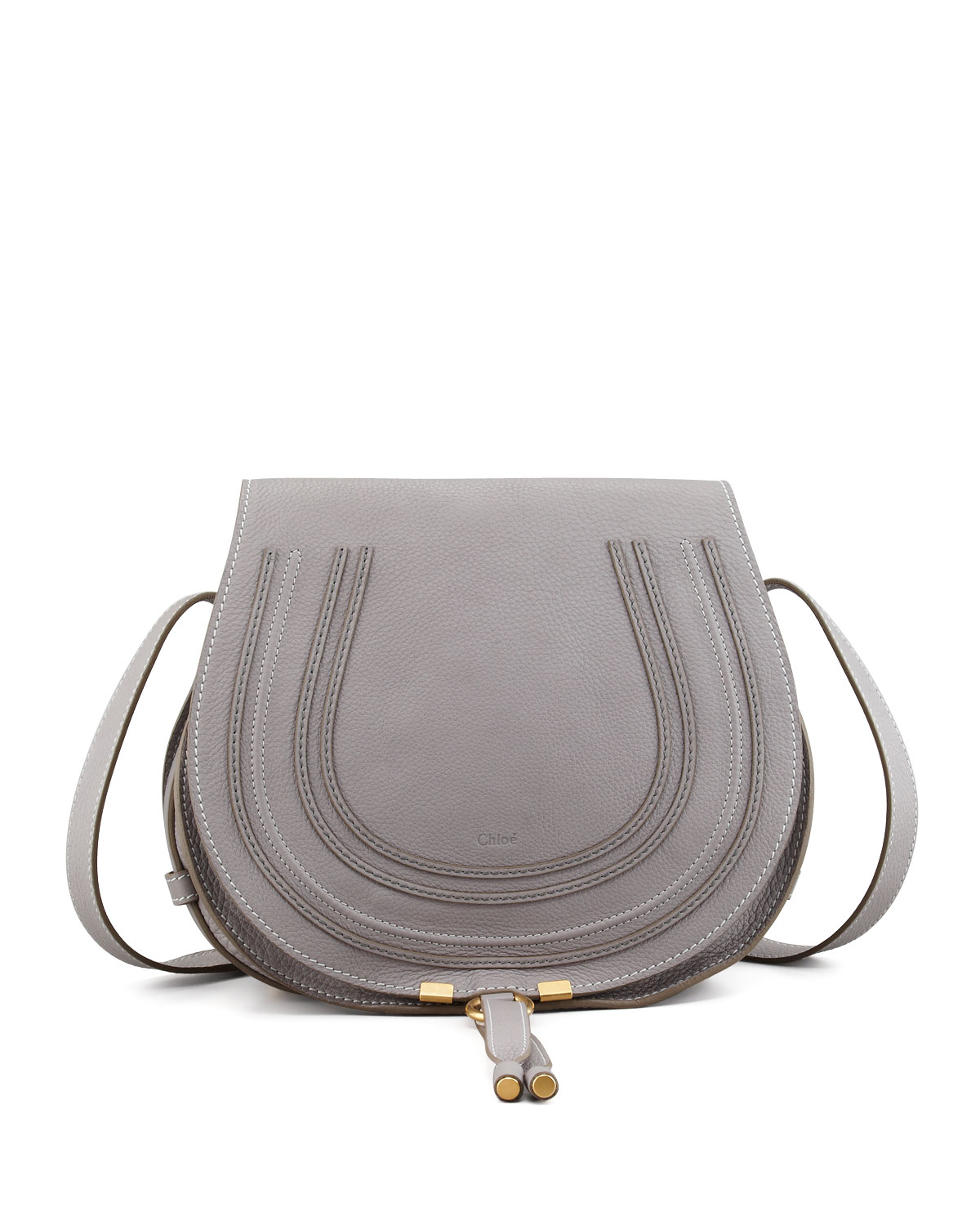 b3636cb256b2 Quick Look. Chloe · Marcie Medium Leather Crossbody Bag. Available in Grey