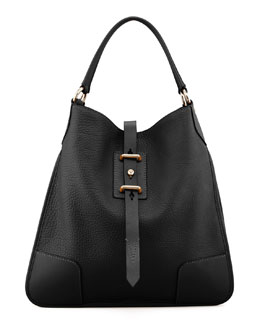 Belstaff Nottingham 38 Hobo Bag, Black