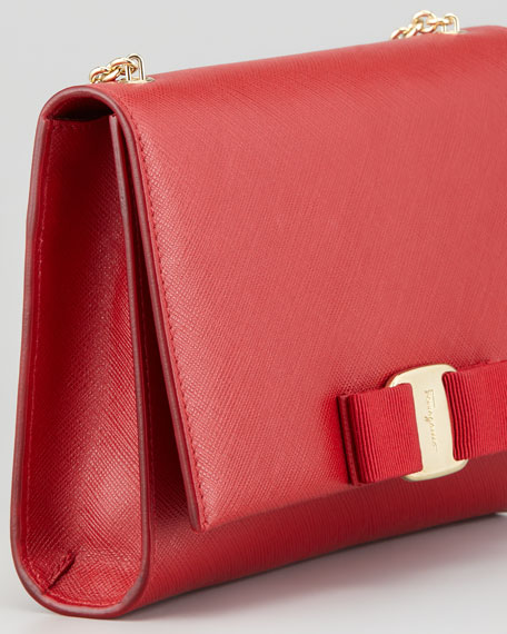 Miss Vara Bow Wallet-on-Chain, Red