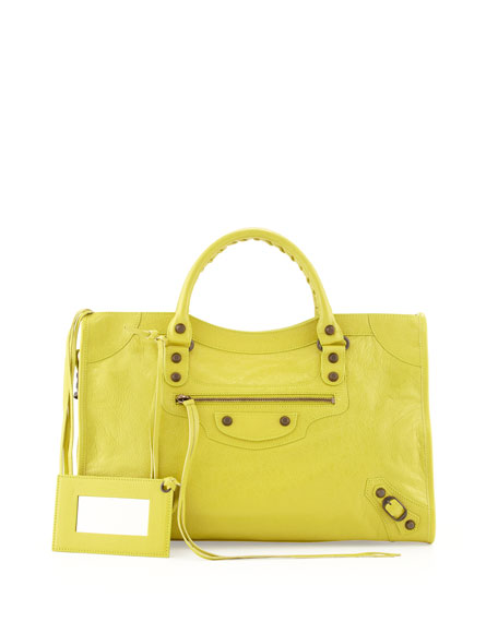 Classic City Bag, Yellow