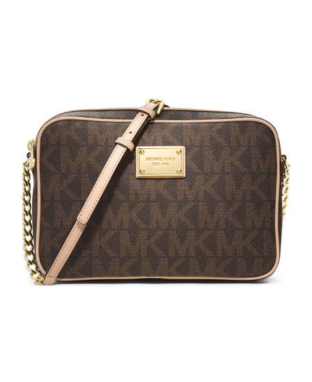 MICHAEL Michael Kors Jet Set Large Travel Crossbody,