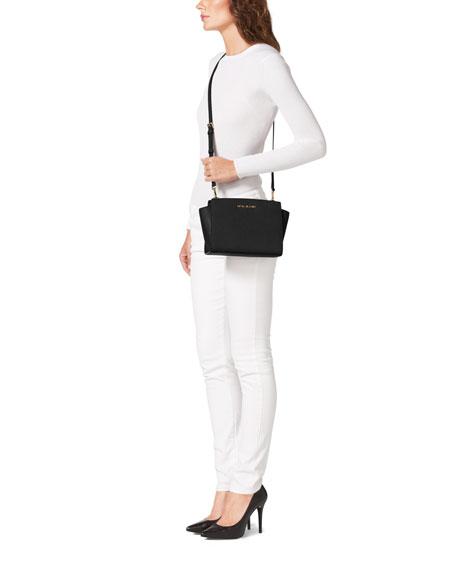 Selma Medium Messenger Bag, Black