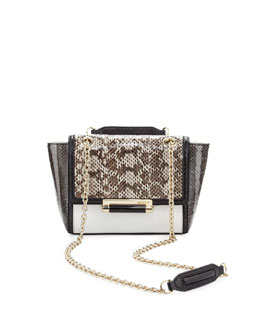 Diane von Furstenberg 440 Mini Flap-Top Combo Crossbody Bag